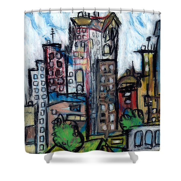 River City II Shower Curtain