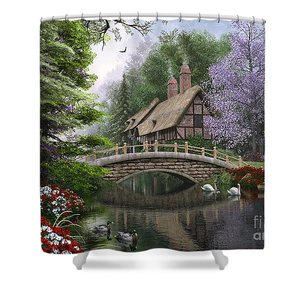 River Cottage Shower Curtain