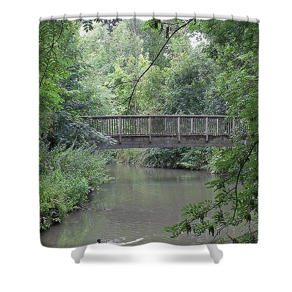River Great Ouse Shower Curtain