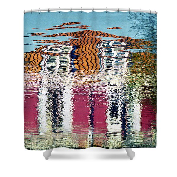River House Shower Curtain