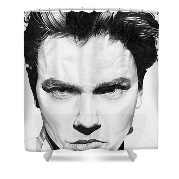 River Phoenix Shower Curtain