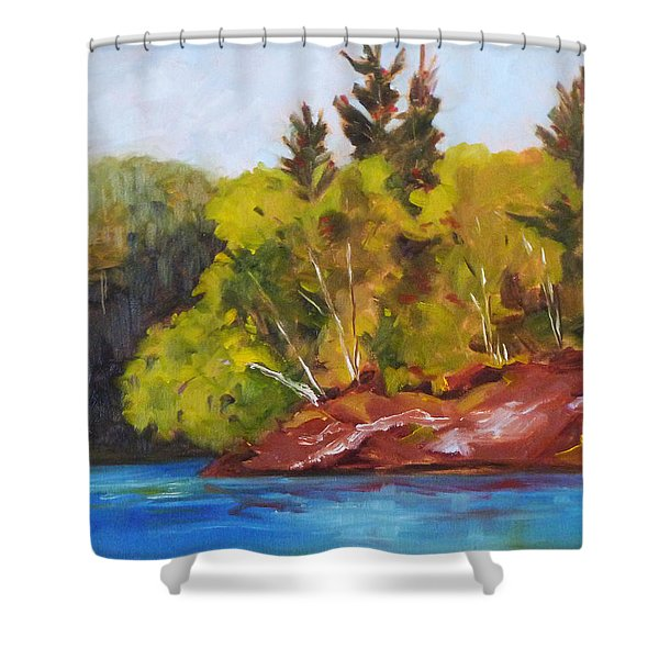 River Point Shower Curtain