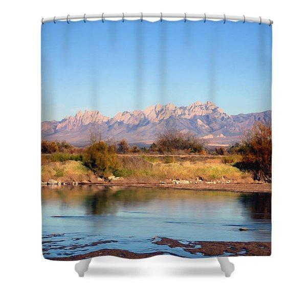River View Mesilla Shower Curtain