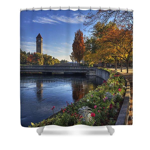 Riverfront Park - Spokane Shower Curtain