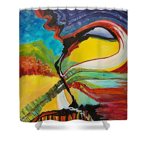 Road To Glory Shower Curtain