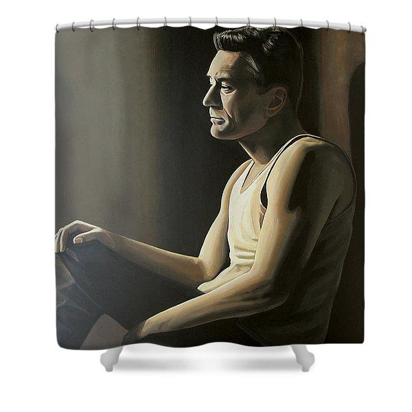 Robert De Niro Shower Curtain