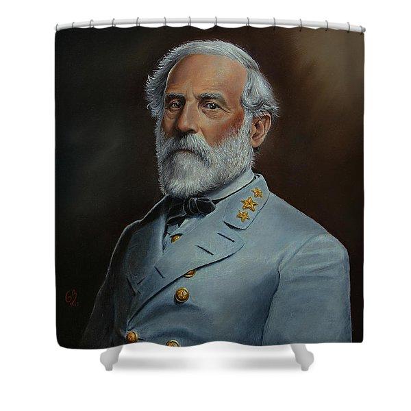 Robert E. Lee Shower Curtain