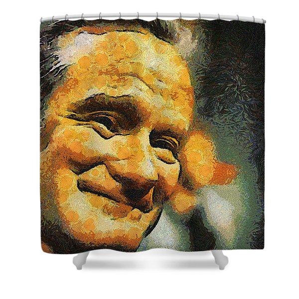Robin William Shower Curtain