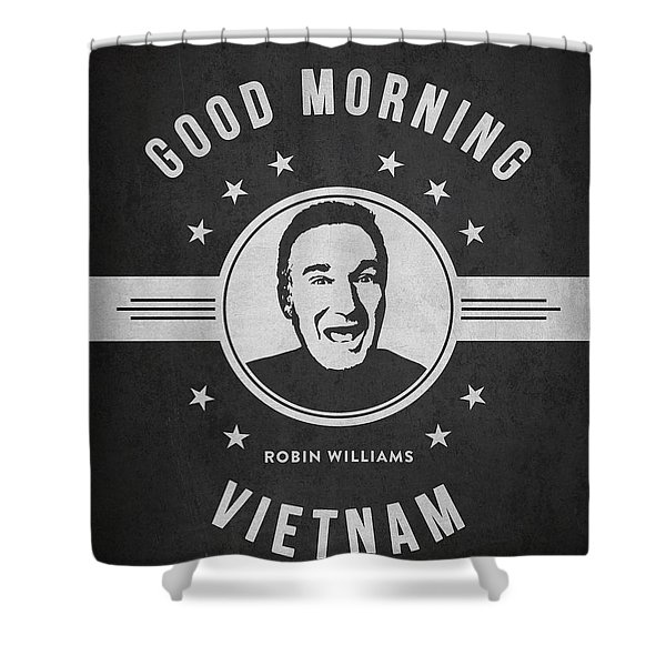 Robin Williams - Dark Shower Curtain