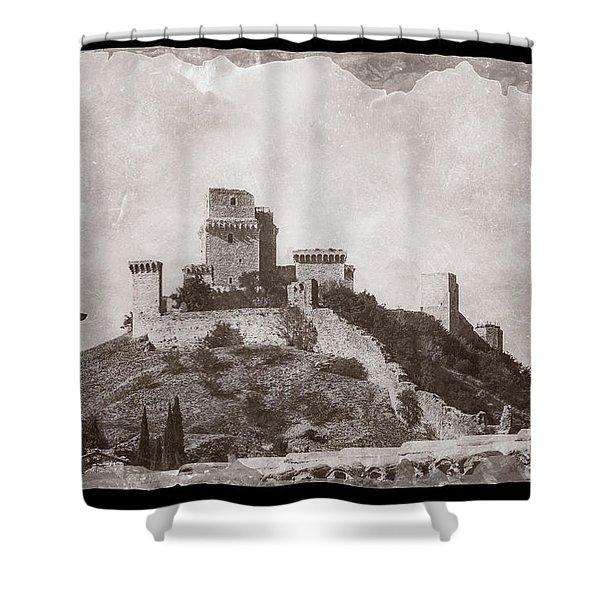 Rocca Maggiore Castle Shower Curtain