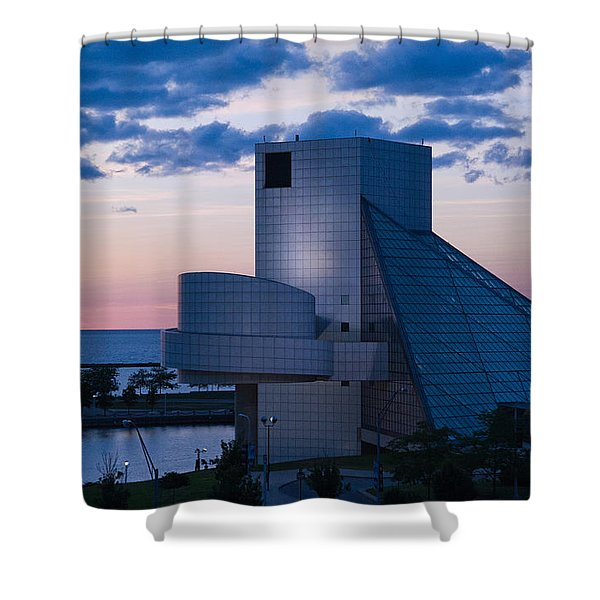 Rock And Roll Hall Of Fame Shower Curtain