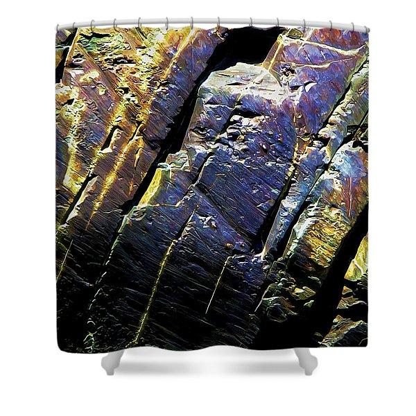 Rock Art 9 Shower Curtain