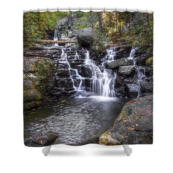 Rock Creek Falls Shower Curtain