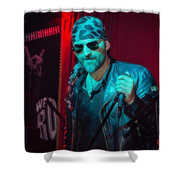 Rock Service II Shower Curtain
