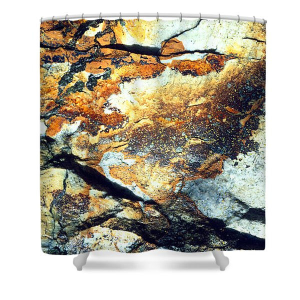 Rock Wasatch National Forest Ut Usa Shower Curtain