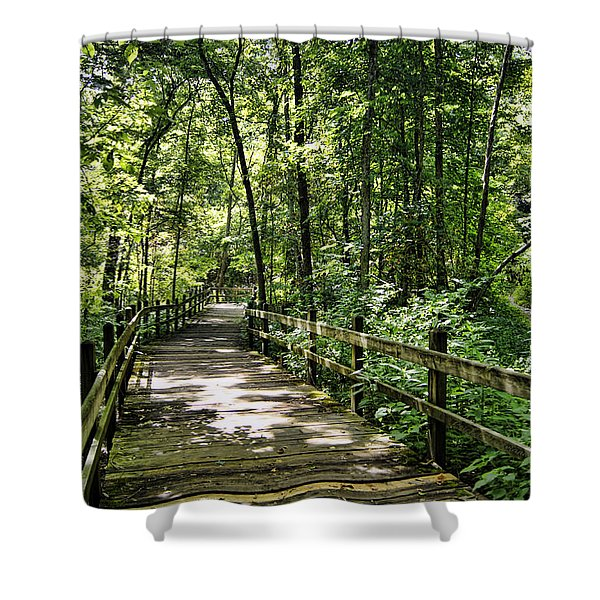 Rockbridge Summer Shower Curtain