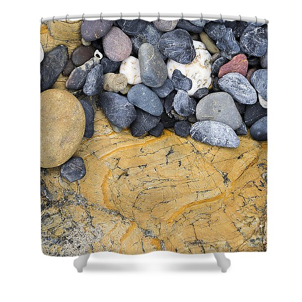 Rocks Shower Curtain
