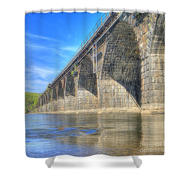 Rockville Bridge Shower Curtain