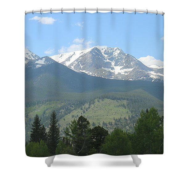Rocky Mountain National Park - 2 Shower Curtain