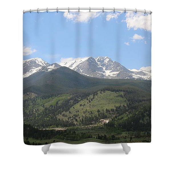 Rocky Mountain National Park - 3  Shower Curtain