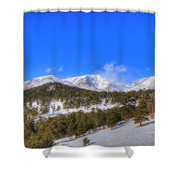 Rocky Mountain National Park 4388 Shower Curtain