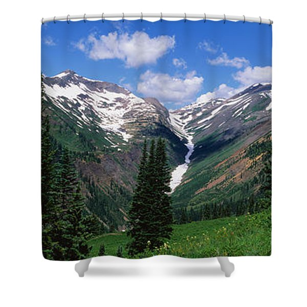Rocky Mountains Co Shower Curtain