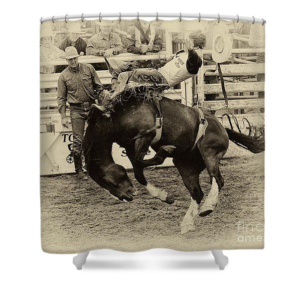 Rodeo Rocket Man Shower Curtain