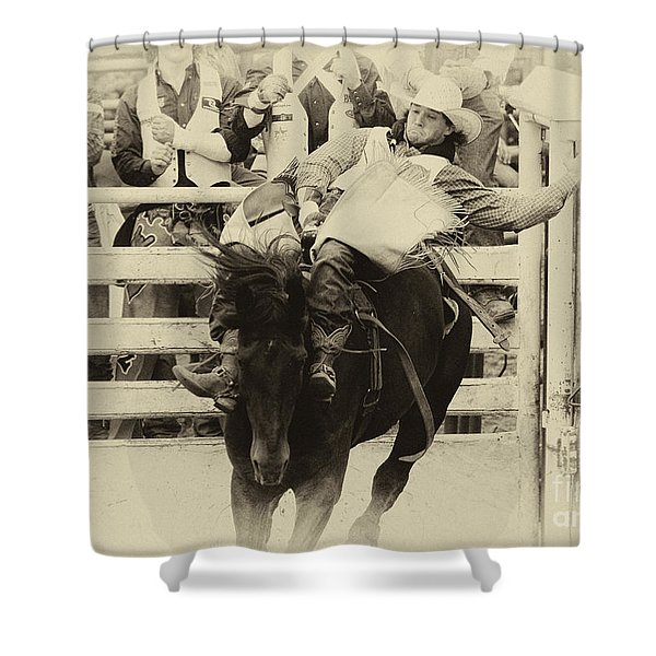 Rodeo Show Your Stuff Shower Curtain