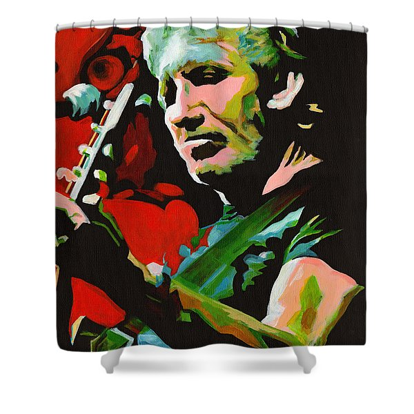 Roger Waters. Breaking The Wall  Shower Curtain