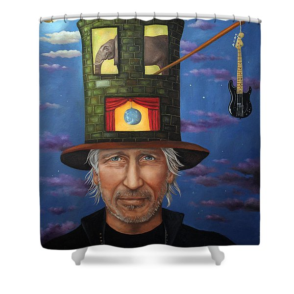 Roger Waters Shower Curtain