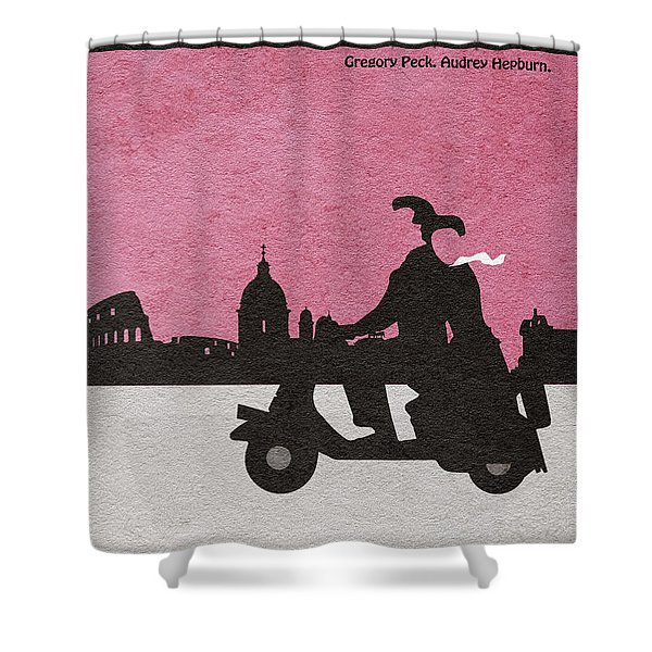 Roman Holiday Shower Curtain