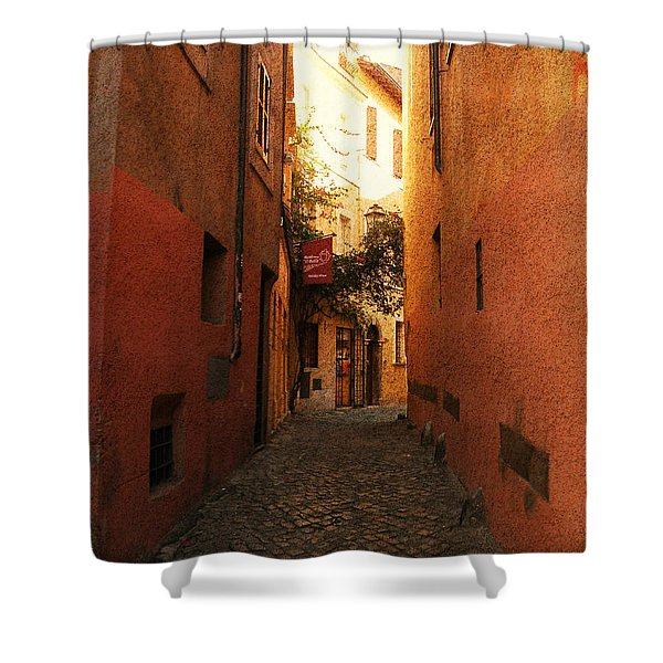 Romano Cartolina Shower Curtain