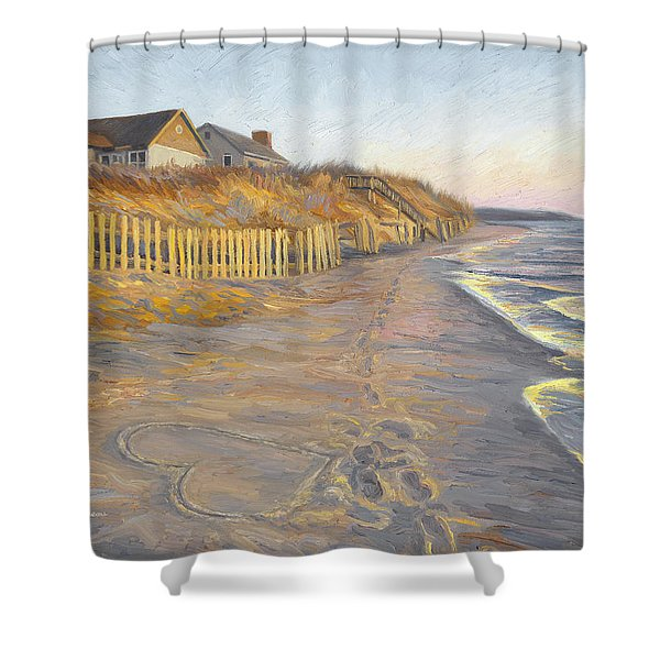 Romantic Getaway Shower Curtain