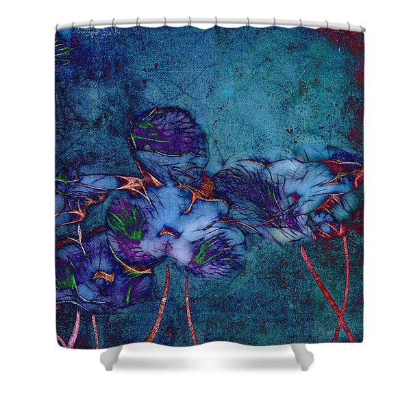 Romantiquite -  55at22 Shower Curtain