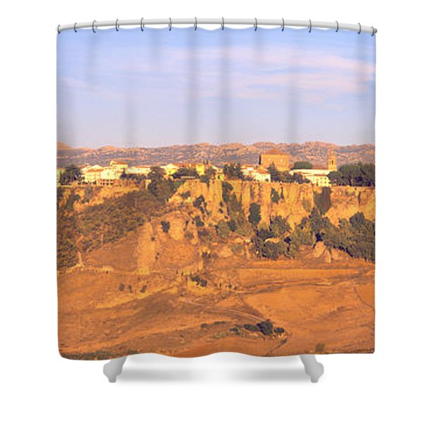 Ronda Gorge, Andalucia, Spain Shower Curtain
