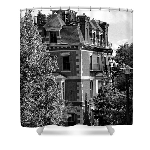 Rooftop Patio Shower Curtain