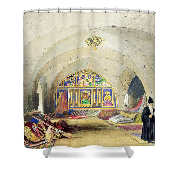 Room In An Armenian Convent Shower Curtain