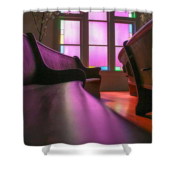 Rose Colored Glass 2 Shower Curtain