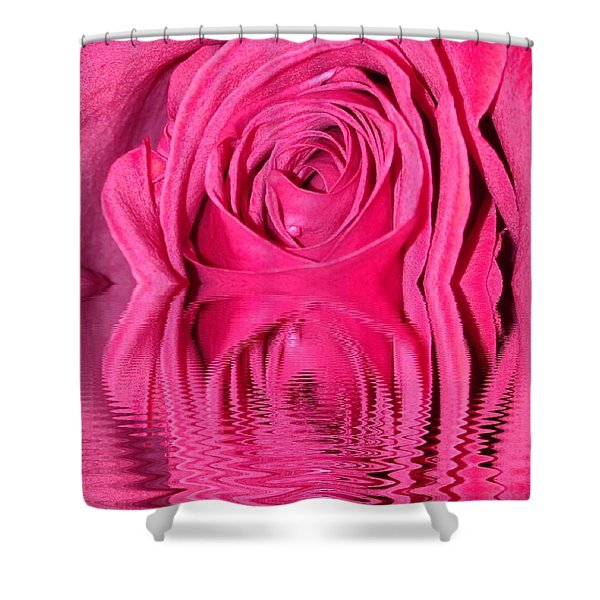 Rose Drops Shower Curtain
