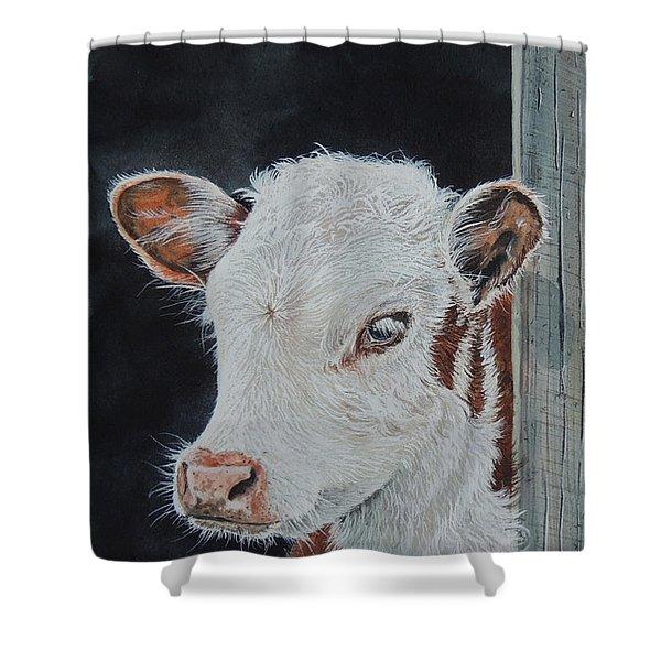 Rosebud. Sold Shower Curtain