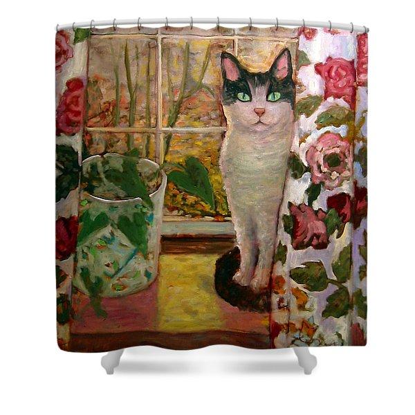 Rosie Shower Curtain