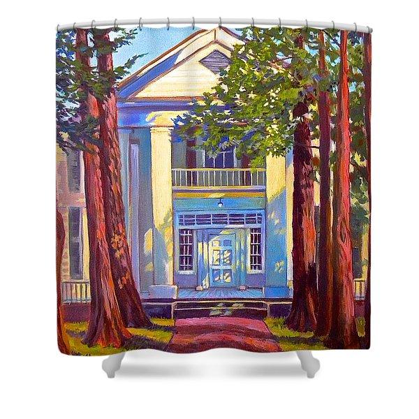 Rowan Oak Shower Curtain