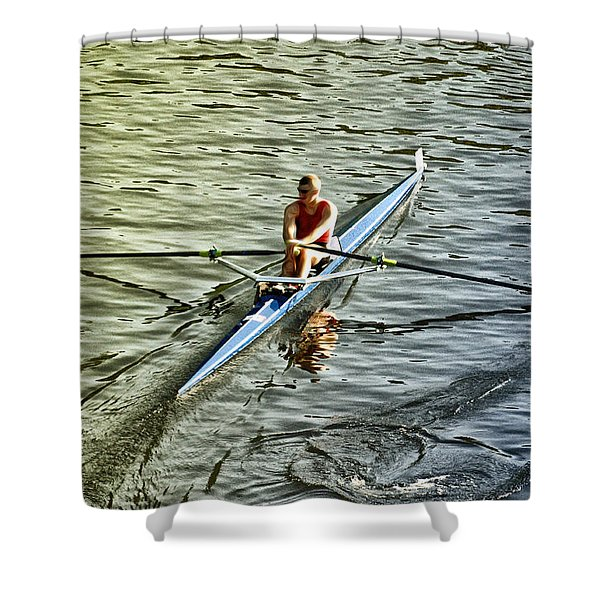 Rowing Crew Shower Curtain