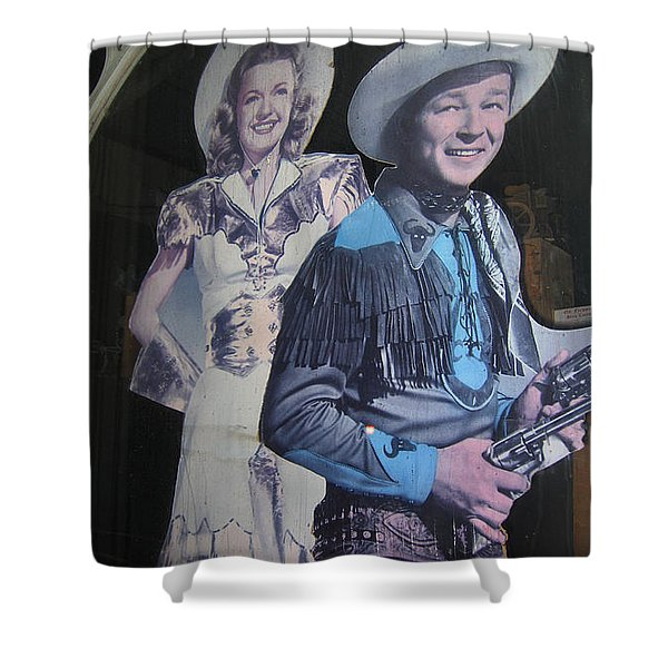 Roy Rogers And Dale Evans #2 Cut-outs Tombstone Arizona 2004 Shower Curtain