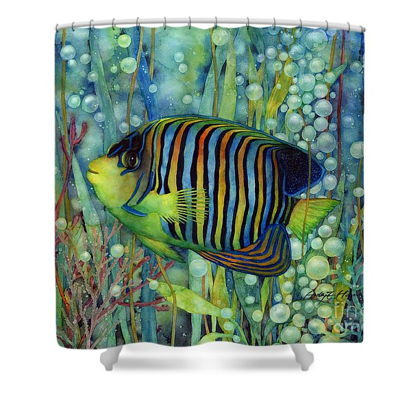 Royal Angelfish Shower Curtain