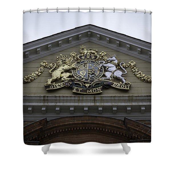 Royal Crest Shower Curtain