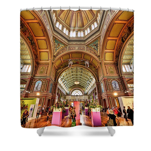 Royal Exhibition Building II Shower Curtain