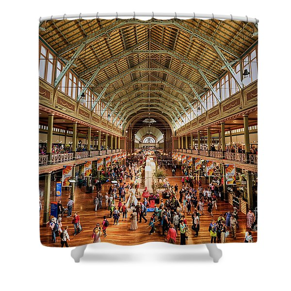 Royal Exhibition Building IIi Shower Curtain