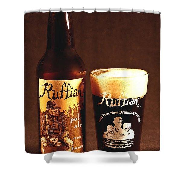 Ruffian Ale Shower Curtain