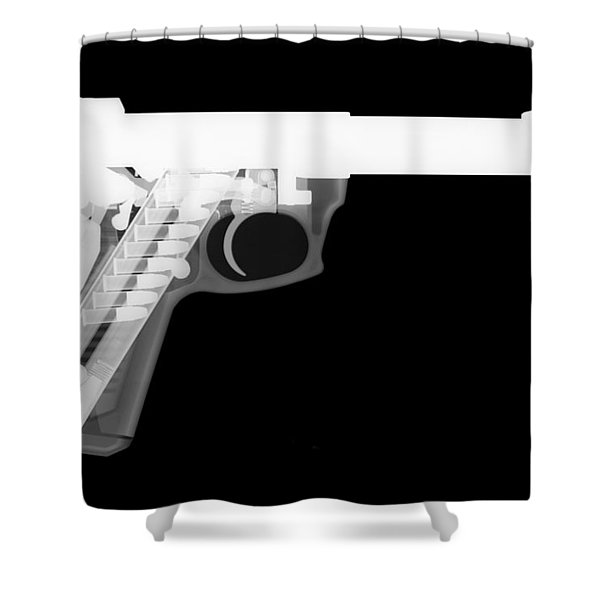 Ruger 22 45 Reverse Shower Curtain